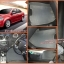 สั่งตัดพรมในรถยนต์เข้ารูป Chevrolet Aveo ลายกระดุมสีเทาขอบเทา thumbnail 1