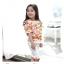 กางเกง สีขาว แพ็ค 5ชุด ไซส์ 100-110-120-130-140 thumbnail 3