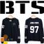 เสื้อแขนยาว BTS สีดำ thumbnail 1