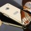 เคส HTC One M7 รุ่น Aluminium Hybrid Mirror Back (เคสฝาหลังเงา) thumbnail 2