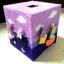 กล่องทิชชูแผ่นเฟรมสีม่วง ตัวหนีบตากผ้า thumbnail 1