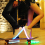 รองเท้าผ้าใบมีไฟ LED สีขาว (เปลี่ยนสีได้ 7 สี) thumbnail 8