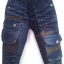 JD1045 กางเกงยีนส์เด็กชาย ดีไซส์ลายปักเท่ห์ทั้งด้านหน้า-หลัง เอวยางยืด เหลือ Size 4-6 ขวบ thumbnail 1