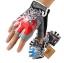 ถุงมือขี่จักรยานครึ่งนิ้ว HAND CREW SS-8-2(GEL) thumbnail 2