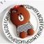 เคสหมีบราวน์3D ไอโฟน 7 4.7 นื้ว thumbnail 1