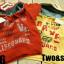 SEV071R TWO&SEVEN เสื้อกันหนาวเด็ก แบบสเวตเตอร์ มีฮู้ด ด้านในเป็นผ้าขูดขนเนื้อเนียนนุ่ม สกรีนลายหน้า+หลัง LIFEGUARD สีแดง เหลือ Size 110 thumbnail 2