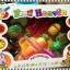 ชุดผักผลไม้หั่นได้ แพคในกล่อง คุณภาพดี 1 ชุดมี 6 ชนิดพร้อมเขียงและมีด thumbnail 1