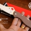 มีดพับ Spyderco รุ่น ZDP-189 ด้าม G10 สีน้ำตาล คมกริบ ขนาด 8 นิ้ว (OEM) A++ thumbnail 1