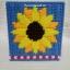 กล่องทิชชูลายดอกทานตะวันสีฟ้า (ทำสำเร็จ) thumbnail 2