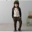 กางเกง(มีขนด้านในอ่อนๆ) สีน้ำตาล แพ็ค 5ชุด ไซส์ 100-110-120-130-140 thumbnail 1