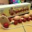 รถไฟไม้แม่ไก่บรรทุกไข่3ฟอง (งานไม้) มีคลิป thumbnail 4