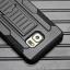 Case Galaxy S6 Edge Plus เคสกันกระแทก สวยๆ ดุๆ เท่ๆ แนวถึกๆ อึดๆ แนวทหาร เดินป่า ผจญภัย adventure เคสแยกประกอบ 3 ชิ้น ชั้นในเป็นยางซิลิโคนกันกระแทก ครอบด้วยแผ่นพลาสติกอีก1 ชั้น กาง-หุบขาตั้งได้ มีปลอกฝาหน้าแบบสวมสไลด์ ใช้หนีบเข็มขัดเพื่อพกพาได้ thumbnail 6