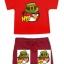 ANG143 Angry Birds เสื้อผ้าเด็ก ชุดนอน-ชุดลำลอง แขนสั้นขาสั้น เนื้อนิ่มใส่สบาย เหลือ Size 18-24M thumbnail 1