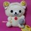 ตุ๊กตาหมีโครีแลคคุมะชุดแกะ San-x Korilakkuma Sheep (Good Night theme 2006) thumbnail 4