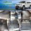 พรมดักฝุ่นปูพื้นรถยนต์ Mitsubishi Pajerosport 2014 ไวนิลสีเทาขอบเทา thumbnail 1