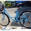 """จักรยานซิตี้ไบค์ FINN """" SMART USA"""" ล้อ 26 นิ้ว 7 สปีด ชิมาโน่เฟรมเหล็ก พร้อมตะกร้า(พัสดุธรรมดา หรือ EMSเท่านั้น) thumbnail 9"""