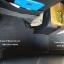 พรมดักฝุ่นปูพื้นรถยนต์ Mitsubishi Pajerosport 2016 ไวนิลสีเทาขอบเทา thumbnail 5