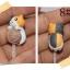 จุกกันฝุ่นมือถือ แมวน้อยเหมียวชี สุดน่ารัก สำหรับเสียบกันฝุ่นรูหูฟังและเพื่อความสวยงามสำหรับ iphone samsung htc oppo lg sony nokia asus หรือมือถือที่มีหูฟังขนาด 3.5 มม. / 3.5mm. Anti Dust Earphone Cap Jack Plug thumbnail 9