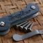 Key Bar Carbon Fiber/Engraved Aluminum (Don't Tread on Me) Lasered