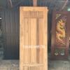 ประตูไม้สักบานเดี่ยว โมเดิร์น เกรดB+, B รหัส AC15