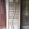 ประตูไม้สักบานเดี่ยว เกรดB+, B รหัส AC19