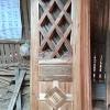 ประตูไม้สักบานเดี่ยว เกรดB+, B รหัส AC20