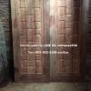 ประตูไม้สักบานคู่สวยแบบคลาสลิก เกรดA รหัส B38