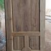 ประตูไม้สักบานเดี่ยว ลูกฟัก เกรดB+, B รหัส AC16