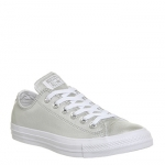 Converse All Star Low Leather Pure Silver White Exclusive