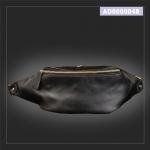 กระเป๋าคาดอก กระเป๋าคาดเอว หนัง PU สีดำ