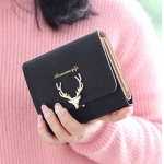 W Short Golden Deer Black