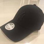 หมวก NEW ERA 9Forty Cap NY สีดำ โลโก้ดำ รุ่นใหม่