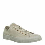 Converse All Star Low Leather Khaki Rose Gold Exclusive