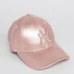 New Era Metallic 9Forty woman Cap in Rose Gold