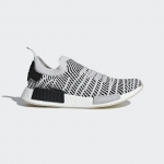 Adidas NMD_R1 STLT PRIMEKNIT SHOES Grey Two/Grey One/Core Black