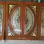 ประตูไม้สักกระจกนิรภัยแตงโมเต็มบาน ชุด4ชิ้น รหัสAAA100 thumbnail 1