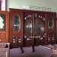 ประตูไม้สักกระจกนิรภัยบานเลื่อนแกะลีลาวดี ชุด4ชิ้น รหัสAAA15 thumbnail 4