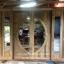 ประตูไม้สักกระจกนิรภัยบานเลื่อน ชุด4ชิ้น รหัส NOT06 thumbnail 1