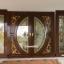 ประตูไม้สักกระจกนิรภัยแตงโมเต็มบาน ชุด4ชิ้น เกรดA รหัส AAA51 thumbnail 1