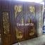 ประตูไม้สักบานคู่ แกะมังกรหงส์ ชุด4ชิ้น รหัส AAA112 thumbnail 1