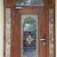 ประตูไม้สักกระจกนิรภัย ชุด2ชิ้น รหัสAAA27 thumbnail 1