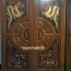 ประตูไม้สักบานคู่ แกะมังกรหงส์ เกรดA รหัส BB17 thumbnail 1