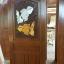 ประตูไม้สักบานเดี่ยว ปลาเงิน-ปลาทอง เกรดA, B+ รหัส C56 thumbnail 1