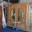 ประตูไม้สักกระจกนิรภัยแตงโม ชุด4ชิ้น รหัส NOT14 thumbnail 1