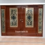 ประตูไม้สักกระจกนิรภัย บานเลื่อน ชุด4ชิ้น รหัส AAA25 thumbnail 1