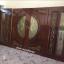 ประตูไม้สักกระจกนิรภัยแกะองุ่น ชุด4ชิ้น รหัสAAA48 thumbnail 3