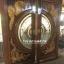 ประตูไม้สักกระจกนิรภัย แกะมังกร,หงส์ เกรดA รหัส A146 thumbnail 1