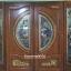 ประตูไม้สักกระจกนิรภัยบานเฟี้ยม ชุด4ชิ้น รหัส AAA116 thumbnail 1