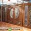 ประตูไม้สักกระจกนิรภัย แกะองุ่น ชุด4ชิ้น รหัส AAA35 thumbnail 1