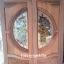 ประตูไม้สักกระจกนิรภัย แกะองุ่น เกรดA รหัส AA26 thumbnail 1